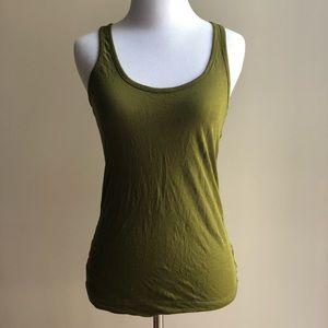 DKNY green tank top